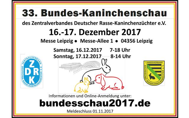 33. Bundes Kaninchenschau