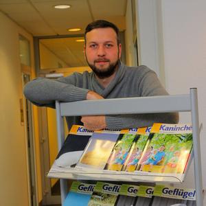 Holger Schnellschmidt, redaktioneller Mitarbeiter der KaninchenZeitung
