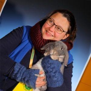 Judith Ziehm-Degner, Redakteurin der  Kaninchenzeitung