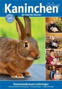 Kaninchenzeitung-Ausgabe-7-2021 Titel Kastanienbraune Lothringer