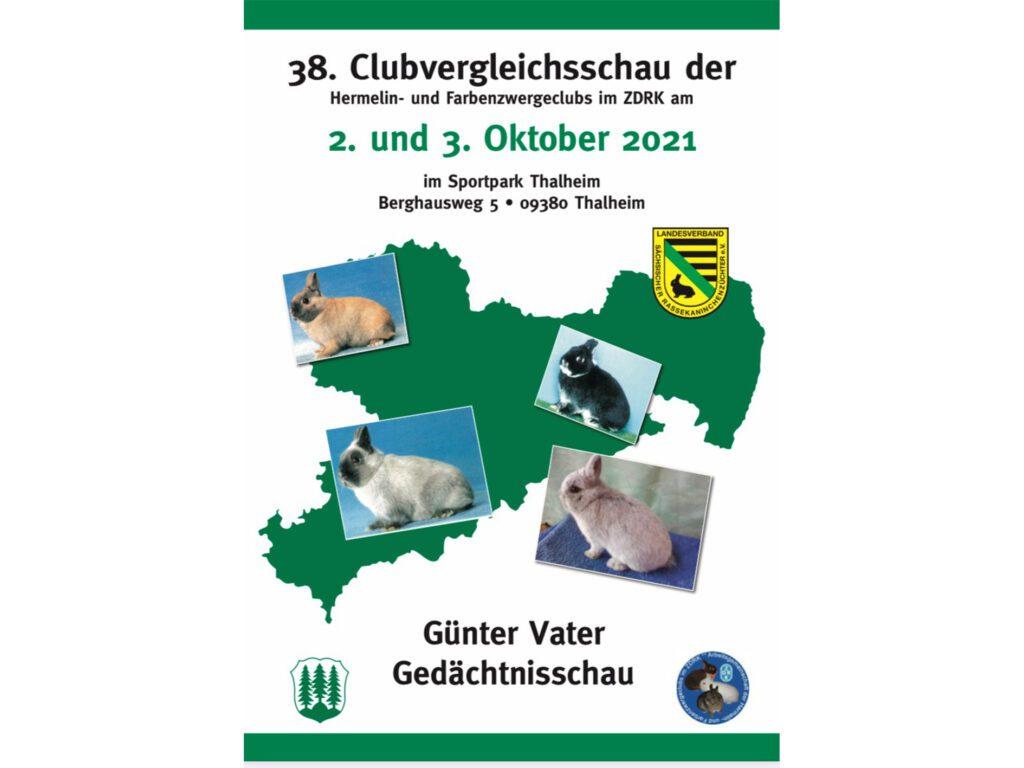 Titelbild der CVS Hermelin- und Farbenzwerge 2021 in Thalheim
